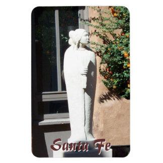 Santa Fe Art Statue Premium Flexi Magnet