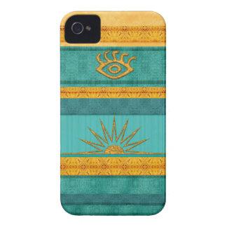 Santa Fe Aztec Sun iPhone 4 Cover