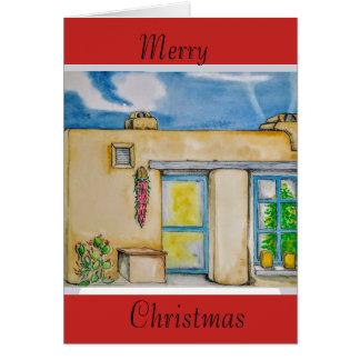 Santa Fe Christmas. Card