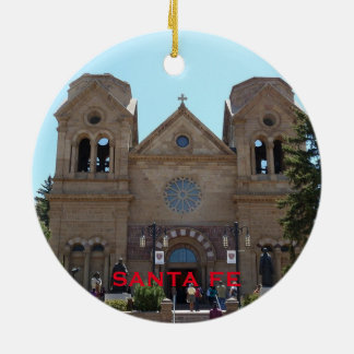 Santa Fe New Mexico Christmas Ornament