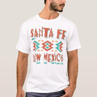SANTA FE NEW MEXICO - DISTRESSED TEXT T-Shirt
