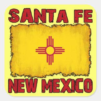 Santa Fe, New Mexico Square Sticker