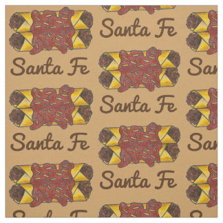 Santa Fe NM New Mexico Enchilada Enchiladas Food Fabric