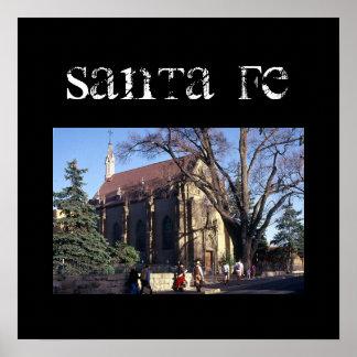 Santa Fe Poster
