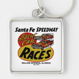 Santa Fe Speedway, Willow Springs, IL 1953-1995 Keychain