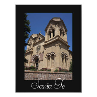 Santa Fe St Francis Cathedral Photo Print