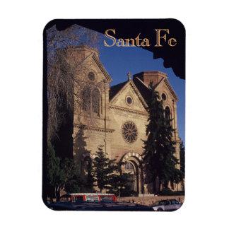 Santa Fe St. Francis Cathedral Rectangular Photo Magnet