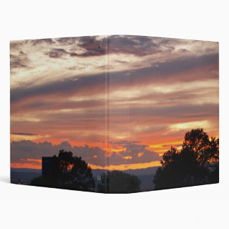 Santa Fe Sunset Binder