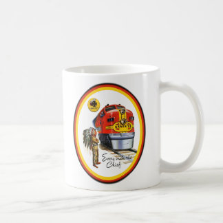 Santa Fe Super Chief Train Coffee Cup
