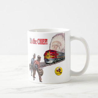 Santa Fe Super Chief Train Cup
