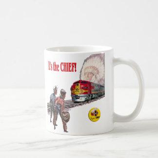 Santa Fe Super Chief Train Cup