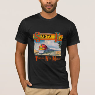 Santa Fe Through New Mexico T-Shirt