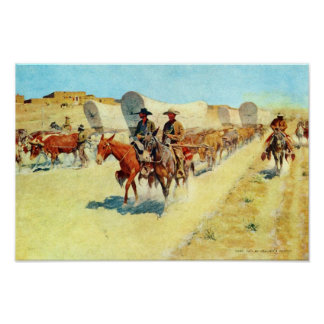 Santa Fe Trade by Remington Fine Art Print