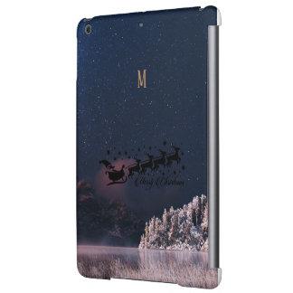 Santa Flying Christmas Special Gifts Holidays New iPad Air Covers