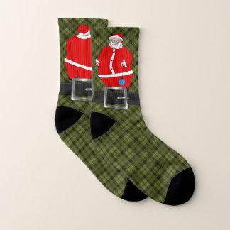 Santa for Your Feet Ugly Christmas 1