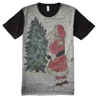 santa fresco All-Over-Print T-Shirt