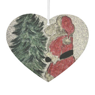 santa fresco car air freshener