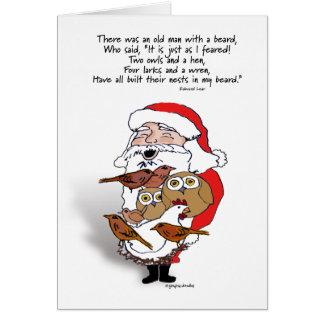 Santa & Friends Card