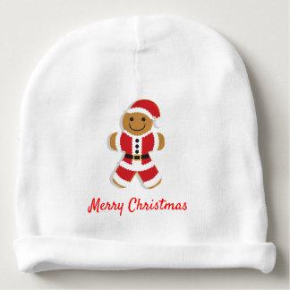 Santa Gingerbread Man | Baby Beanie