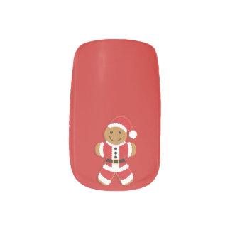 Santa Gingerbread Man | Nail Art