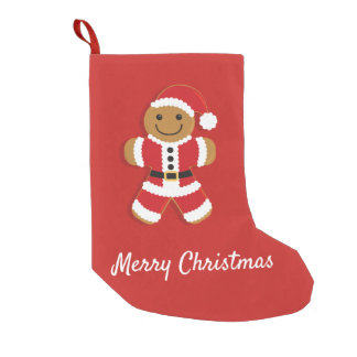 Santa Gingerbread Man | Stocking