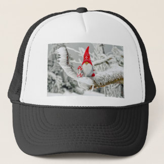 Santa Gnome Trucker Hat