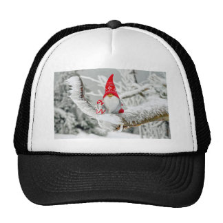 Santa Gnome Trucker Hat