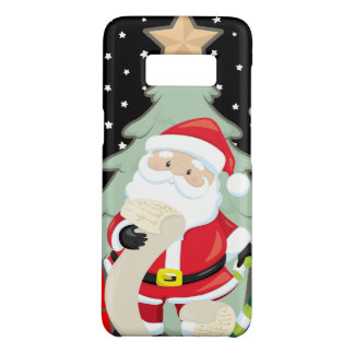 Santa Has A List Case-Mate Samsung Galaxy S8 Case