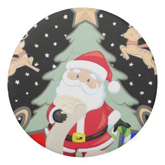 Santa Has A List Eraser
