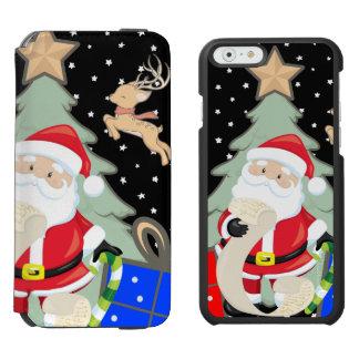 Santa Has A List Incipio Watson™ iPhone 6 Wallet Case