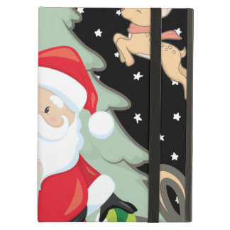 Santa Has A List iPad Air Cover