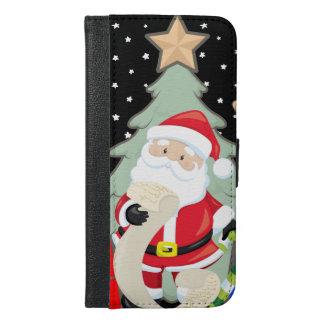 Santa Has A List iPhone 6/6s Plus Wallet Case