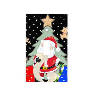 Santa Has A List Light Switch Cover