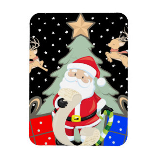 Santa Has A List Magnet
