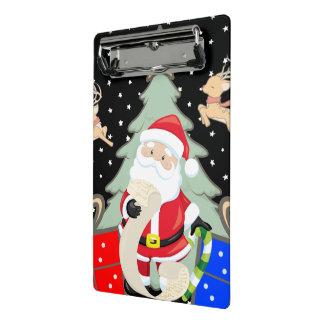Santa Has A List Mini Clipboard