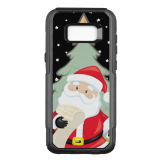 Santa Has A List OtterBox Commuter Samsung Galaxy S8+ Case