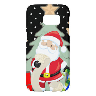 Santa Has A List Samsung Galaxy S7 Case
