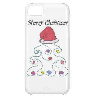 Santa Hat Christmas Tree iPhone 5C Case