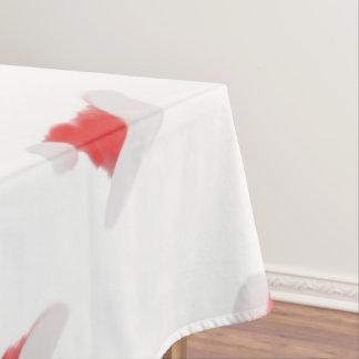Santa Hat Design Tablecloth