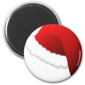 Santa Hat Magnet
