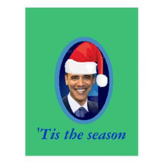 Santa Hat Postcard