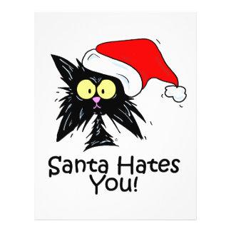 Santa Hates You Flyer