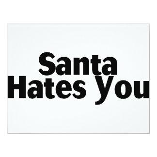 Santa Hates You Announcements
