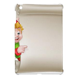 Santa Helper Elf Christmas Scroll iPad Mini Case