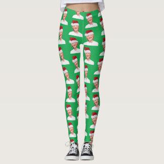Santa Hillary - Leggings