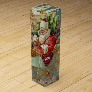 Santa & His Amazing Flying Machine Wine Gift Box