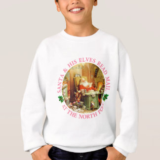 Santa & His Elves Make A List and Check It Twice Sweatshirt