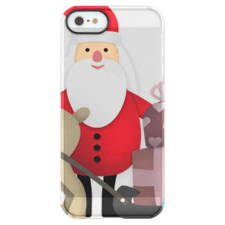 Santa & His Reindeer with Gifts Permafrost® iPhone SE/5/5s Case