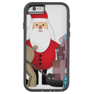 Santa & His Reindeer with Gifts Tough Xtreme iPhone 6 Case