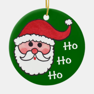Santa Ho Ho Ho -Tree Ornament